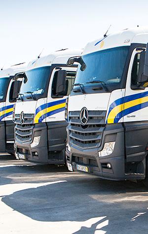 Empresa de transporte - Camiones refrigerados Primafrio