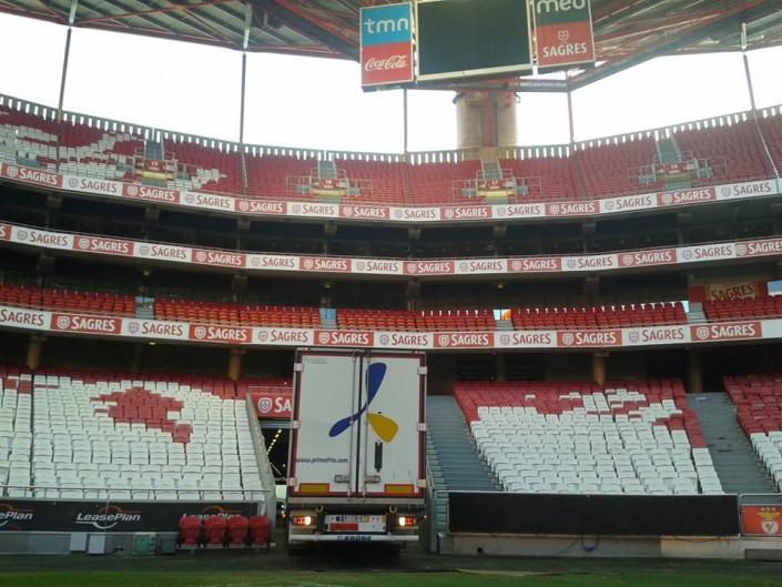 Camión de Primafrio en Benfica