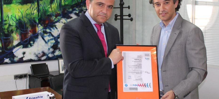 Certificación IFS de SGS