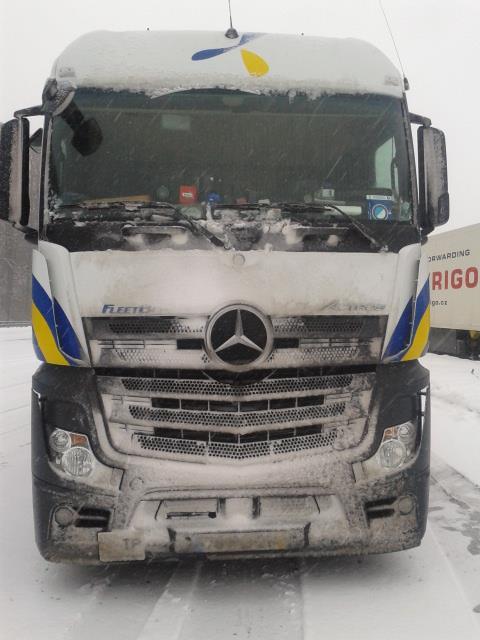 Camión de Primafrio