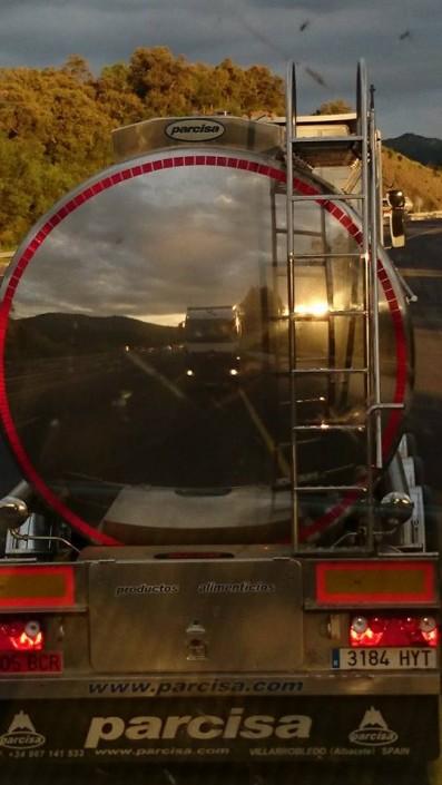 Primafrio - Reflejo de camión